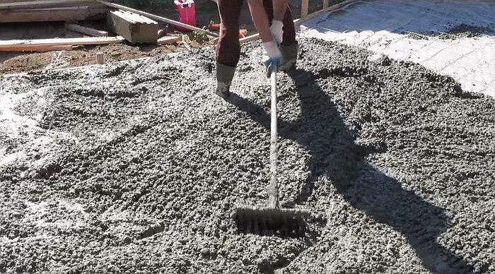 бетон утрамбовка