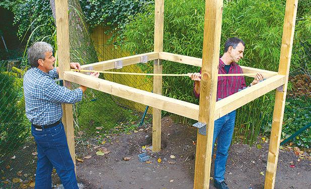 Построить домик детям своими руками