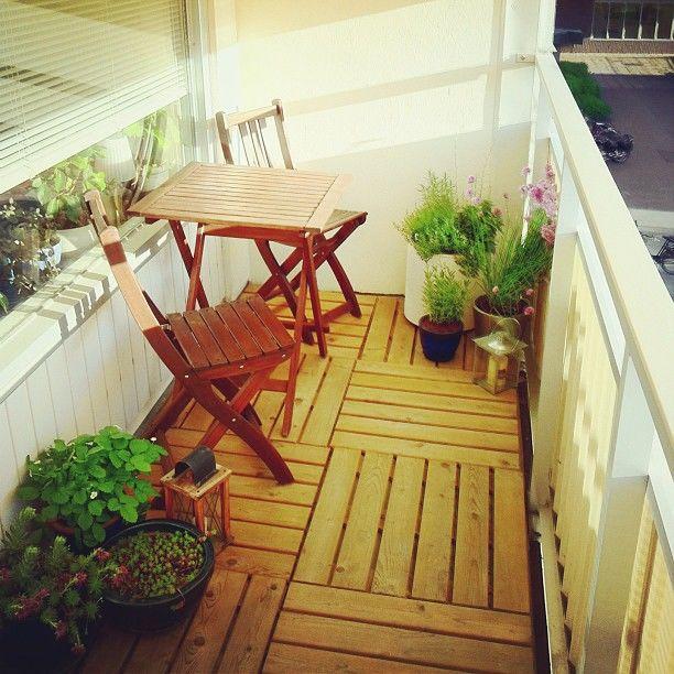 Дизайн балкона: 30 фото.