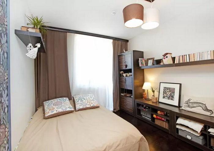 Дизайн спальной комнаты 10 кв м