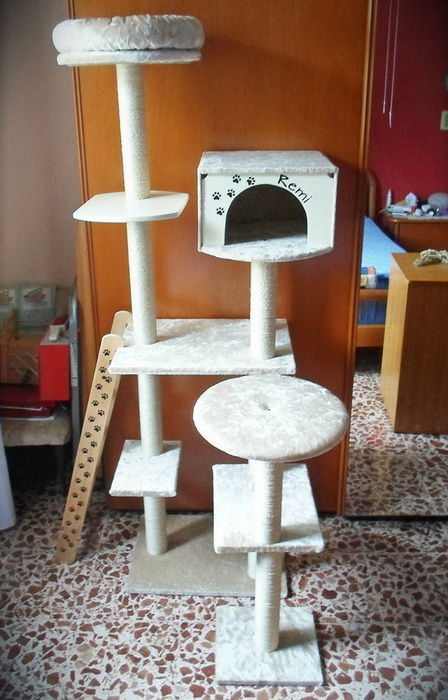 Домик для кота своими руками видео