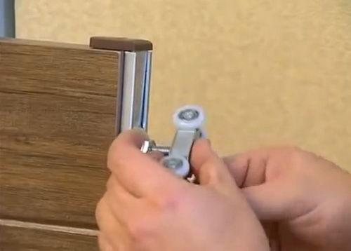 Межкомнатные двери купе своими руками