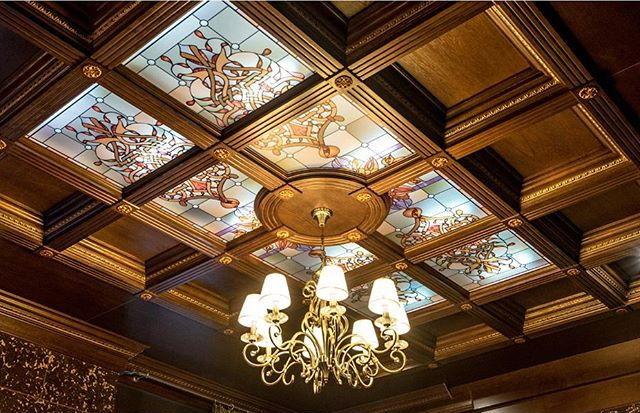 Картинки кессонных потолков