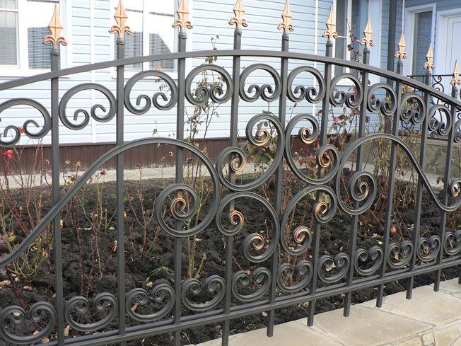Как сделать узор на заборе 8