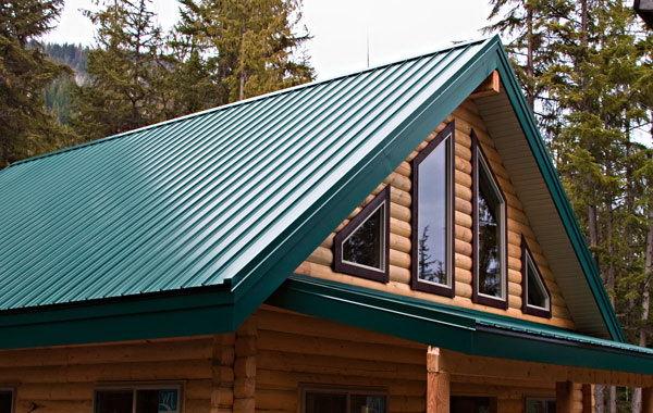 Как сделать двухскатную крышу дома фото 489