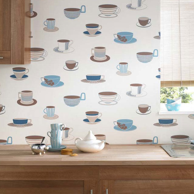 20 for Kitchen wallpaper uk