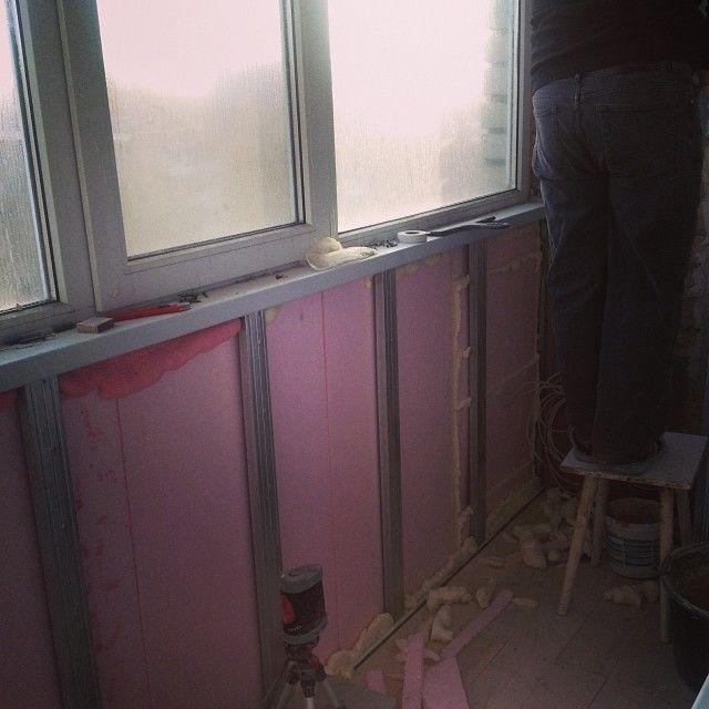 Остекление балкона своими руками: фото, видео.