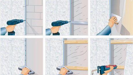 Как отделать туалет пластиковыми панелями своими руками