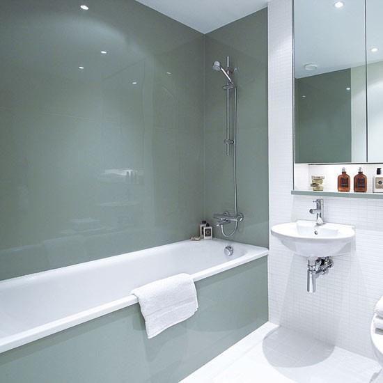 Дизайн в ванной из пластиковых панелей