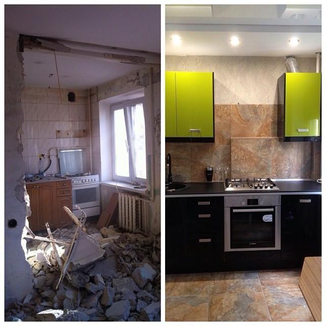 бюджетный ремонт квартиры фото до и после повреждения связок