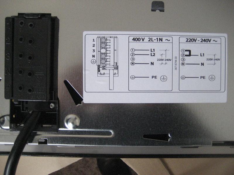 Инструкция подключения варочной панели