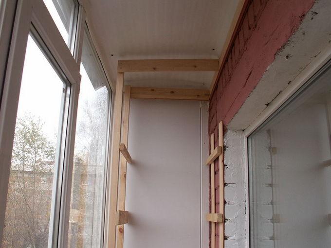 Как Сделать Шкаф На Балконе Руководство