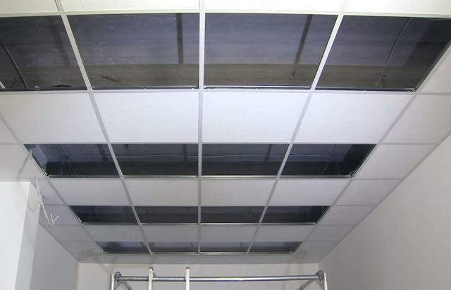 Видео как сделать навесной потолок фото 142