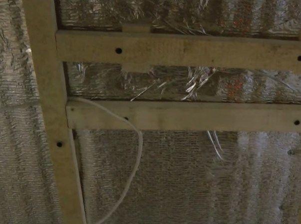 Пластиковые панели на потолок установка своими руками
