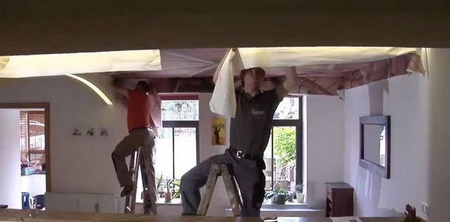 Как сделать в квартире шумоизоляцию потолка