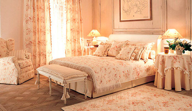 Дизайн маленьких спален в голубом цвете