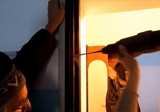 Установка железных дверей своими руками видео