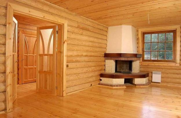 Отделка деревянный дома