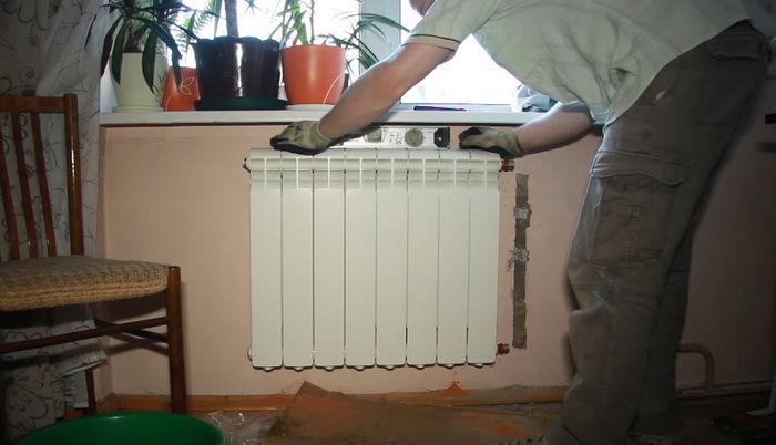 Поменять батареи отопления в квартире через жэк