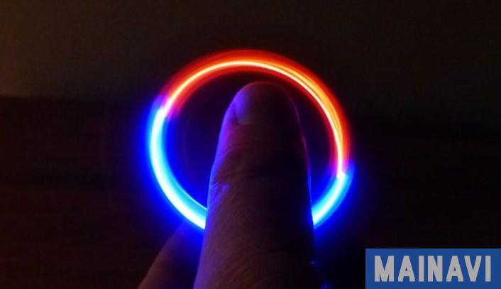 Спиннер светящийся в темноте: фото инструкция