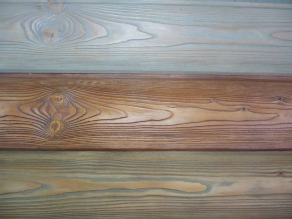 Вощение древесины