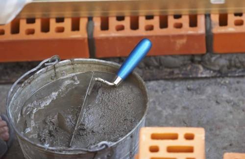 Разведенный сухой состав для штукатурки