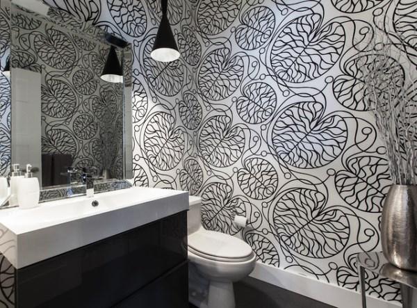 Какие выбрать обои для туалета