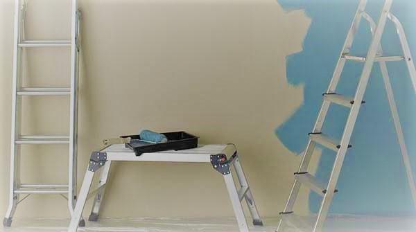 Стремянки и столы для штукатурки