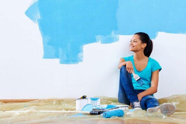 Как красить стены своими руками: фото, видео