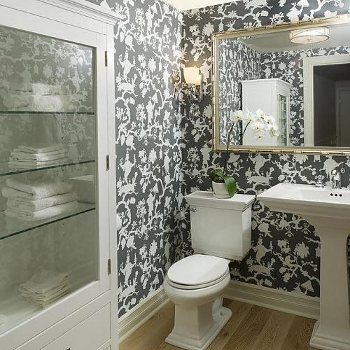 Флизелин в туалете
