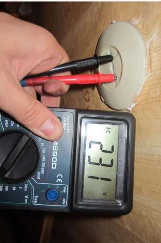 Измерить напряжение