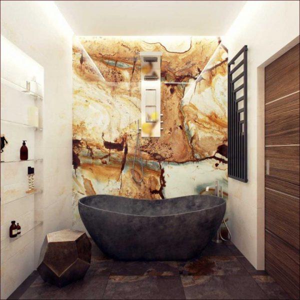 Каменная ванна чаша