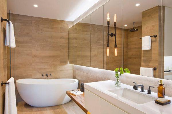 Минималистичная ванная
