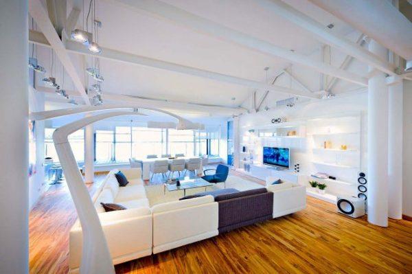 Освещение в гостиной: современные идеи с фото