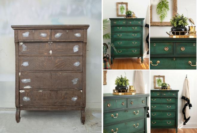 Старая мебель в современном интерьере ? реставрируем и обновляем - Дом