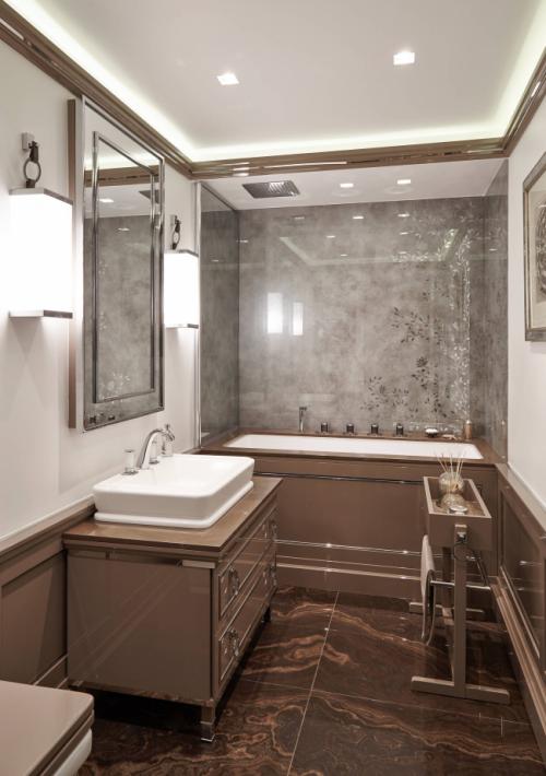 Освещение ванной комнаты: современные идеи с фото