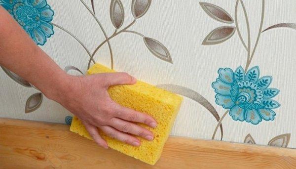 Как правильно клеить флизелиновые обои своими руками