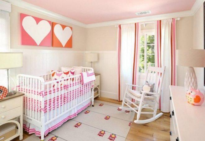 Интерьер комнаты младенца