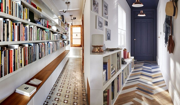 Пространство стиля в коридоре