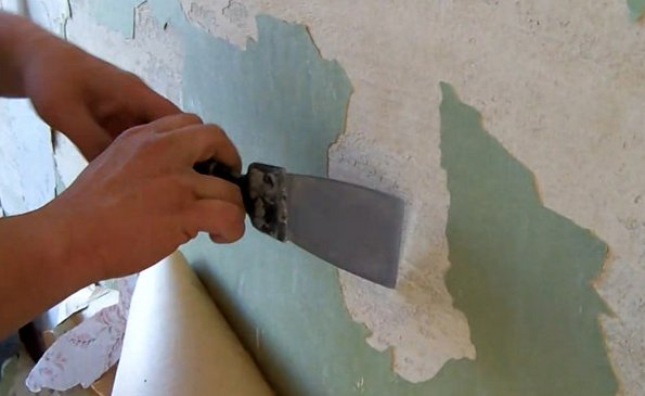 Очищаем стены
