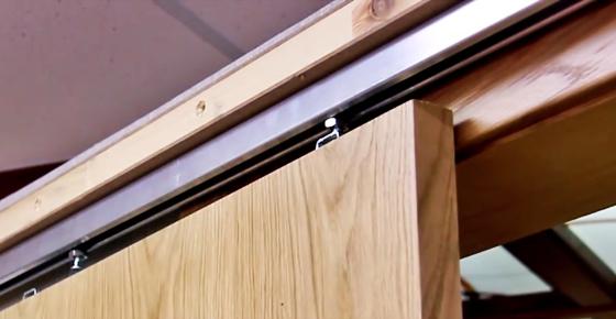 Двери-купе: изготовление и установка своими руками