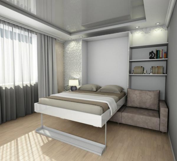 Выдвижная кровать-трансформер