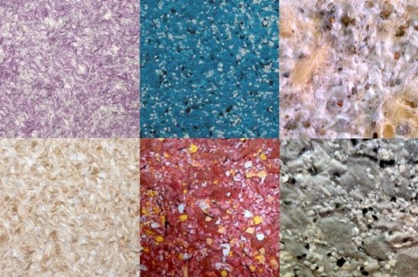 Цветовая палитра жидких