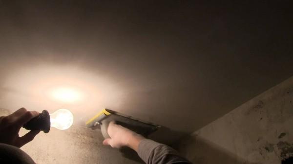 Шлифовка с фонариком