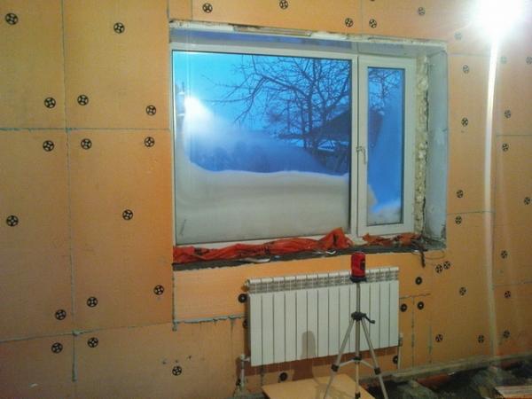 Как утеплить стены внутри квартиры
