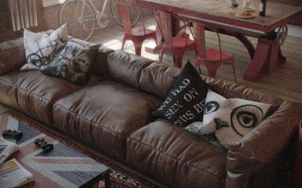 Подушки с котами