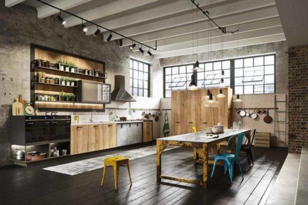 Встроенная на кухне