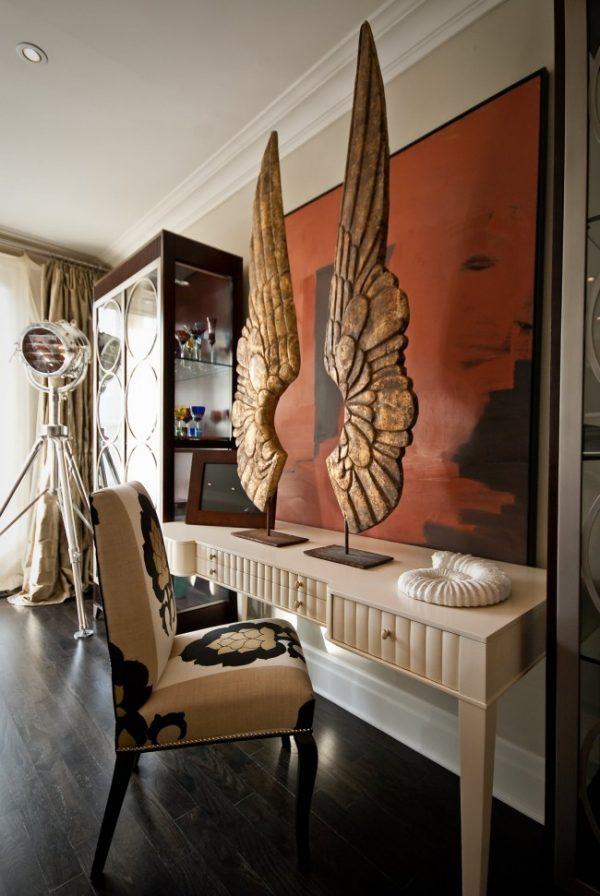 Скульптура крылья