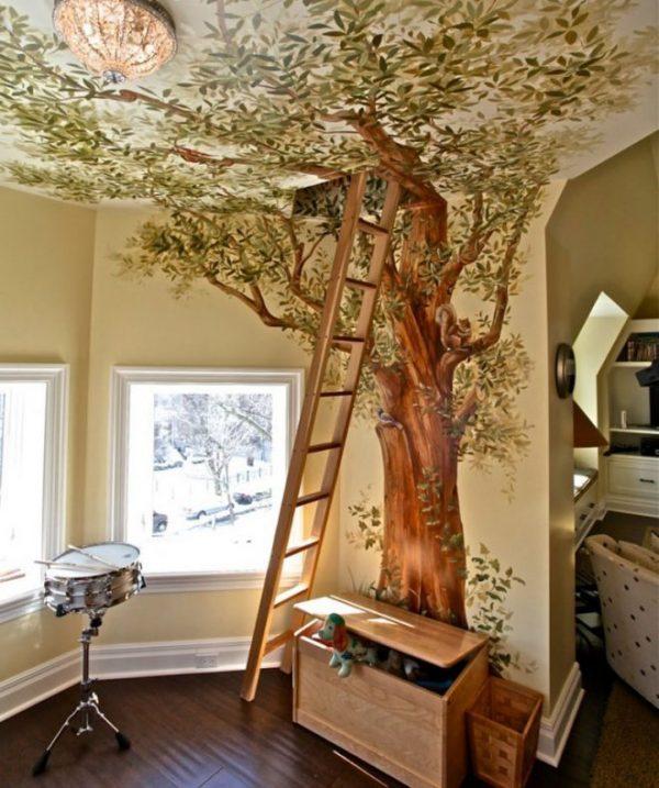 3Д дерево