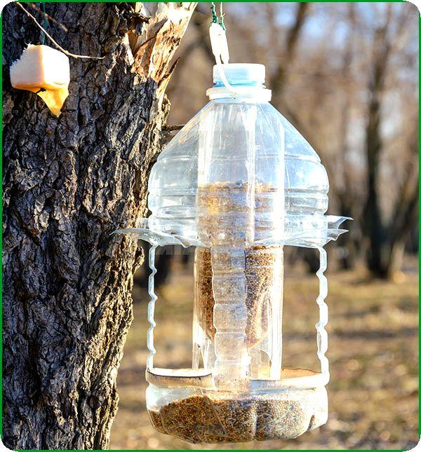 Кормушка из пятилитровой бутылки своими руками фото 274